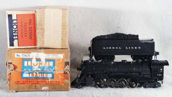 004: LIONEL 726LTS LOCO & TENDER