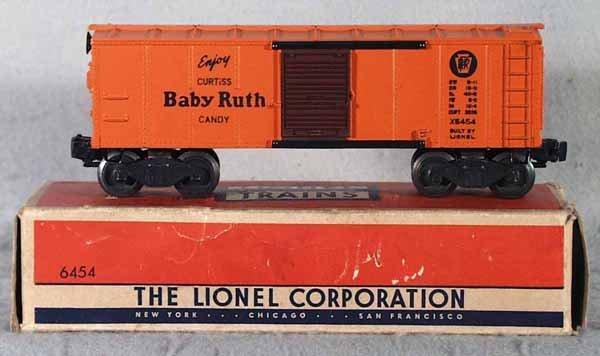 007: LIONEL 6454 PR BOX CAR