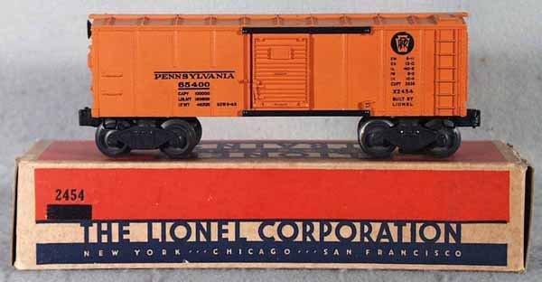 012: LIONEL 2454 PR BOX CAR