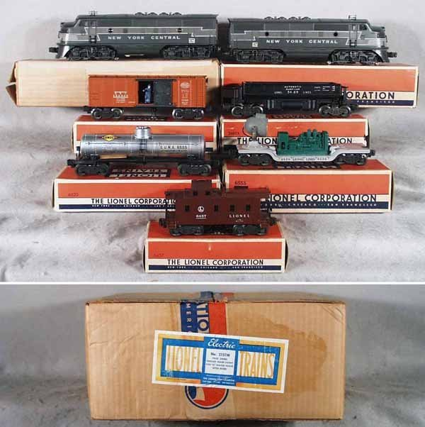 181: LIONEL 2151W TRAIN SET