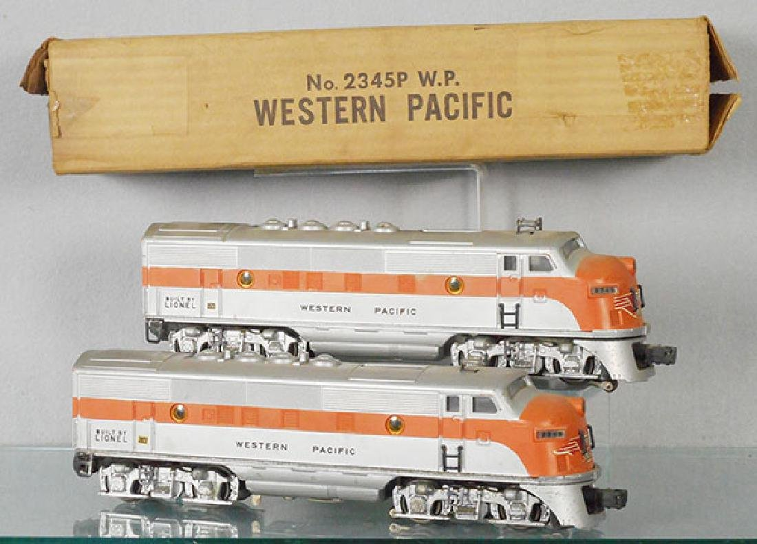 LIONEL 2345 WESTERN PACIFIC F3 AA
