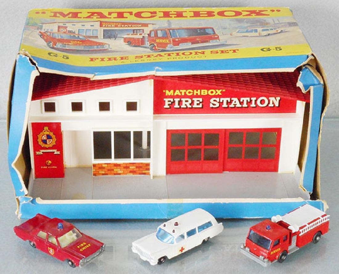 MATCHBOX G5 FIRE STATION SET
