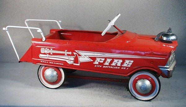 24: MURRAY FIRE CITY BATTALION #1 PEDAL CAR