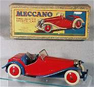 140 MECCANO M223 2SEAT SPORTS CAR
