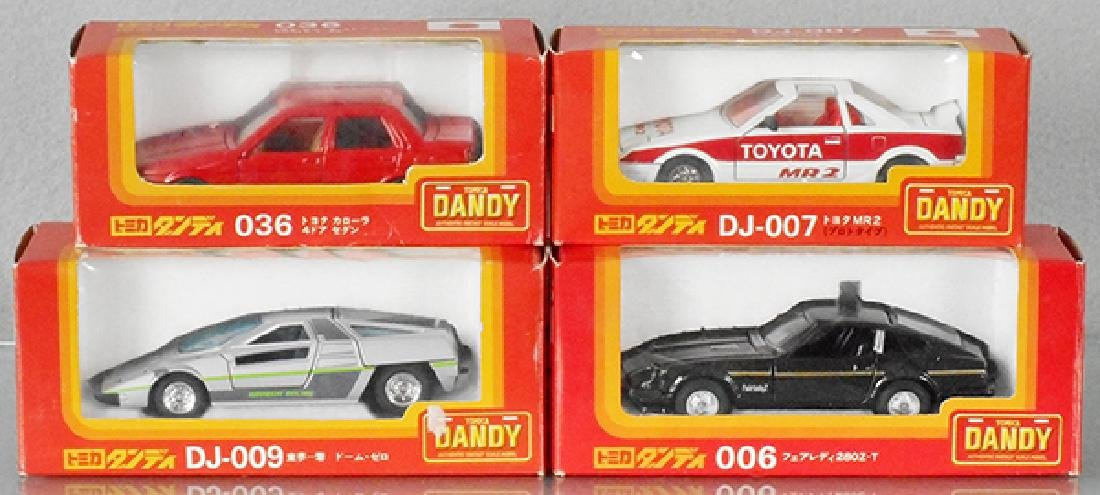 4 TOMICA DANDY AUTOS