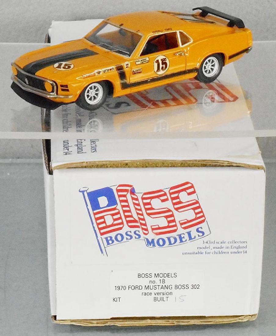 BOSS MODELS 1970 FORD MUSTANG