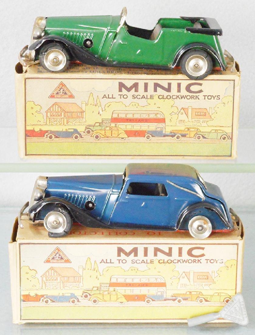 2 MINIC VAUXHALL AUTOS