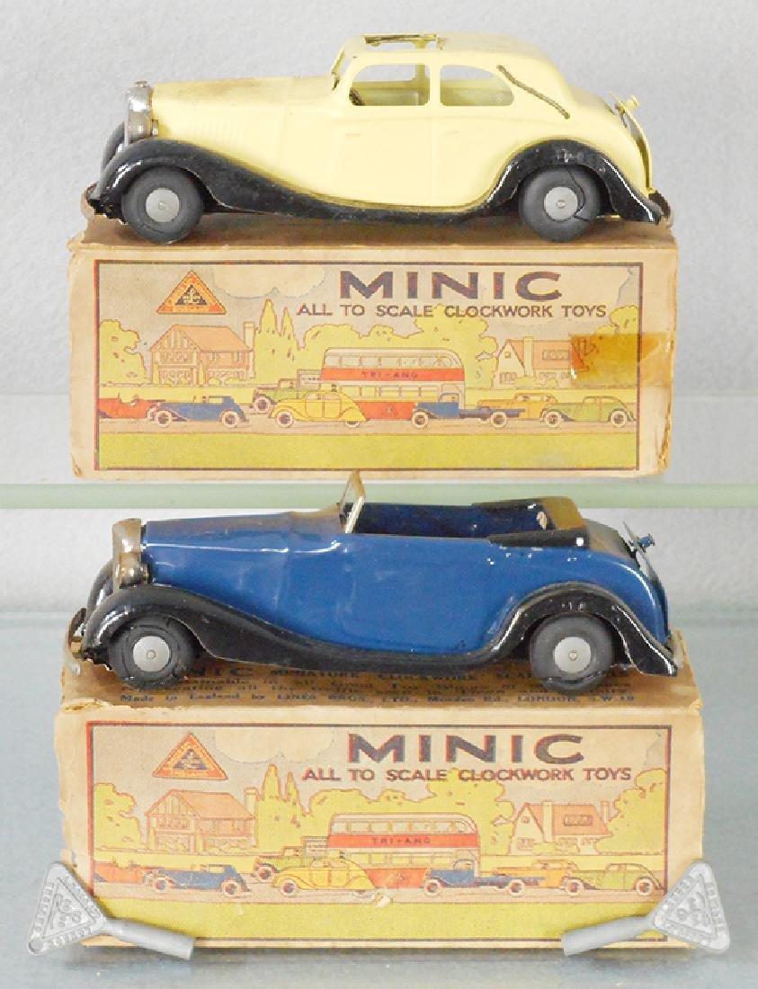 2 MINIC AUTOS