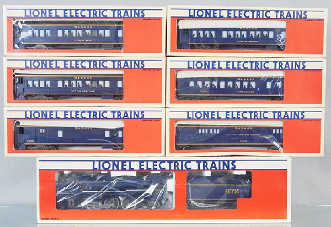 LIONEL WABASH TRAIN SET