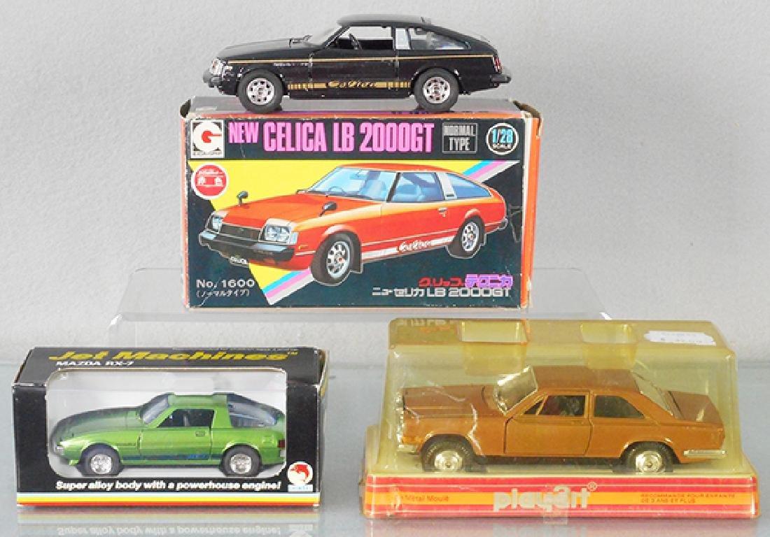 3 JAPANESE AUTOS