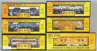 6 MTH FREIGHT CARS