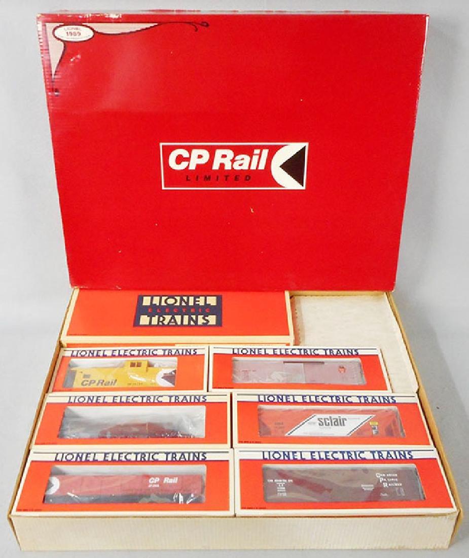 LIONEL 11710 CP RAIL TRAIN SET