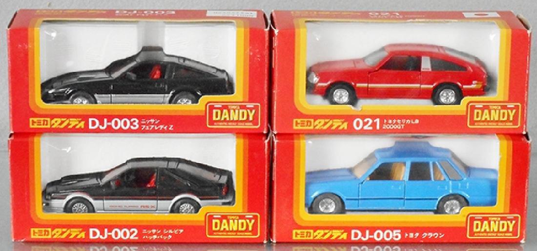 4 TOMICA DANDY AUTOS