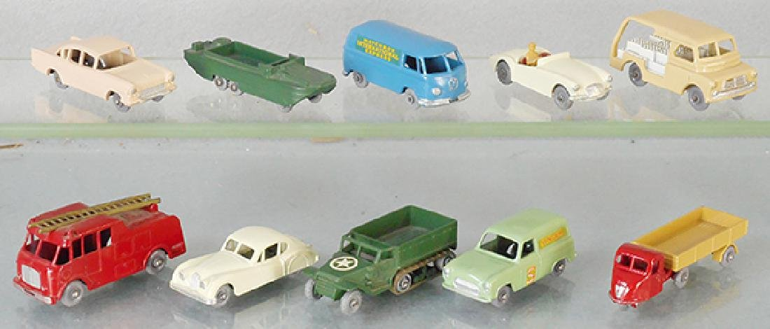 10 MATCHBOX VEHICLES