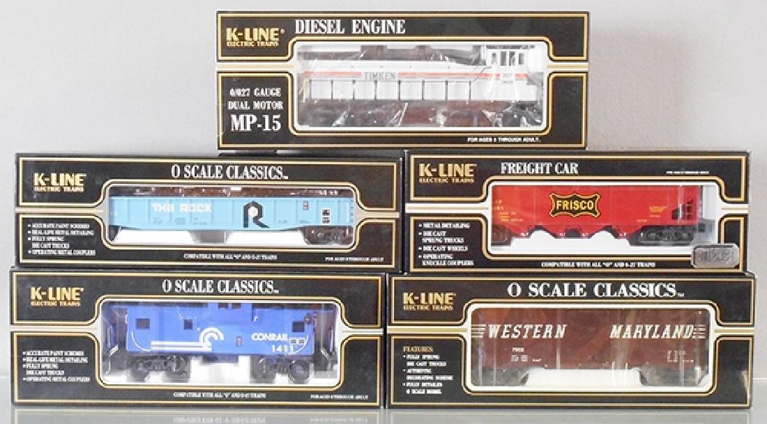 K-LINE TRAIN SET