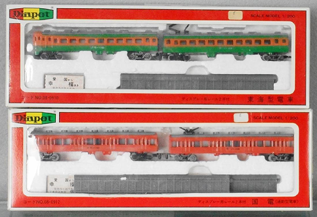 2 DIAPET TRAIN SETS