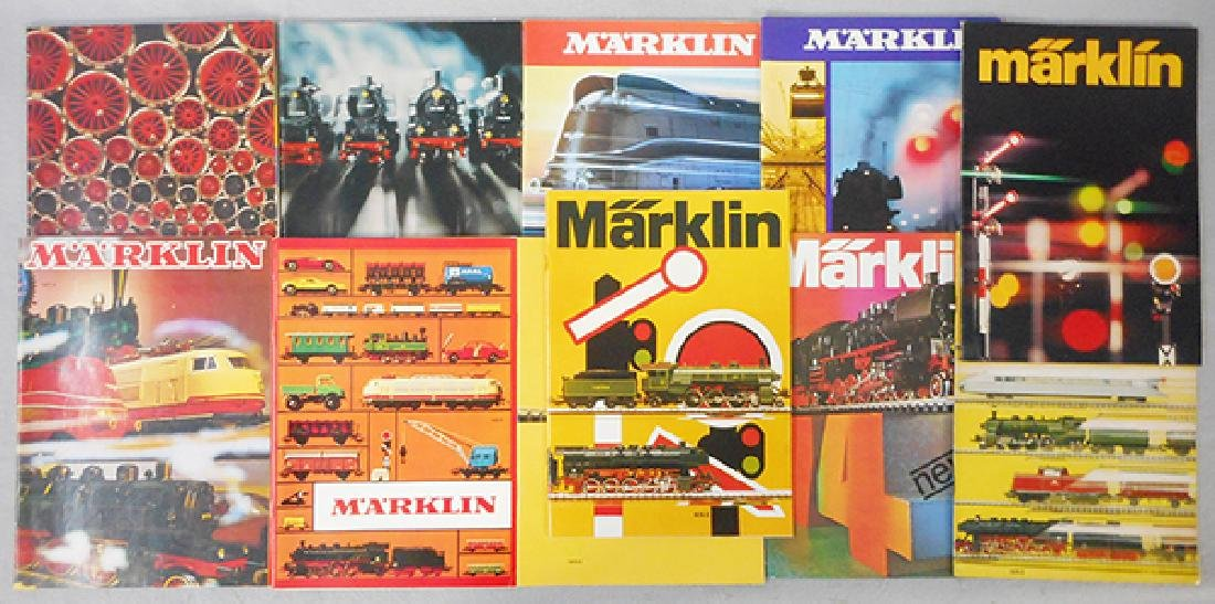 MARKLIN CATALOGS