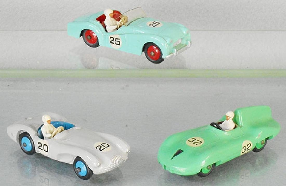 3 DINKY RACERS