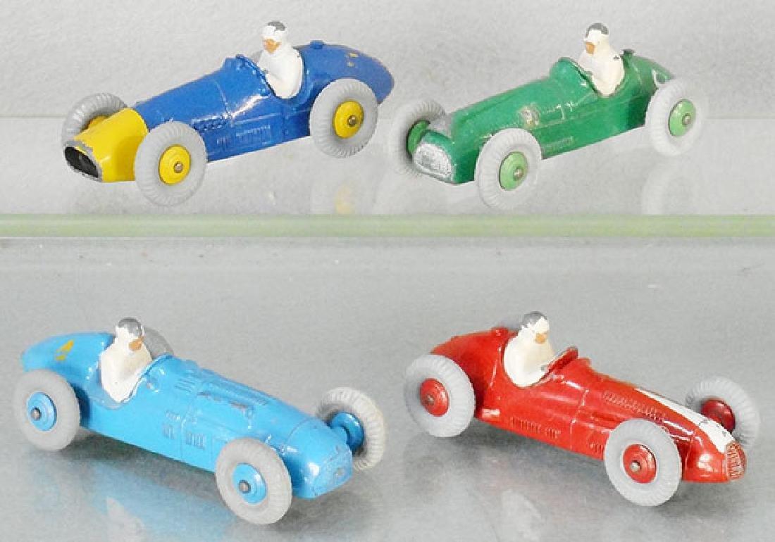 4 DINKY RACERS