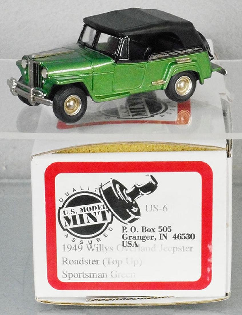 US MODEL MINT US-6 1949 WILLY'S OVERLAND JEEP
