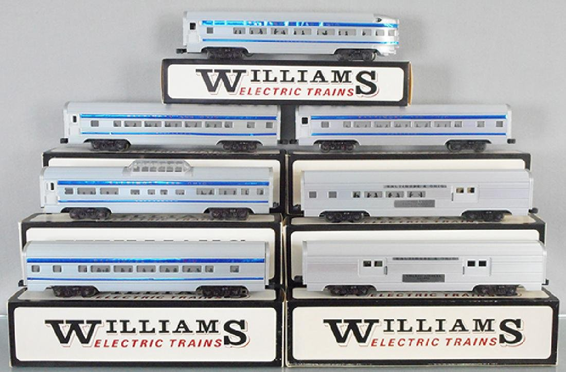 7 WILLIAMS B&O COACHES