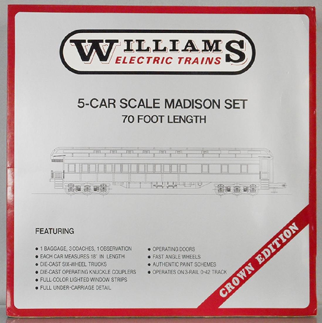 WILLIAMS 2400 PRR CAR SET