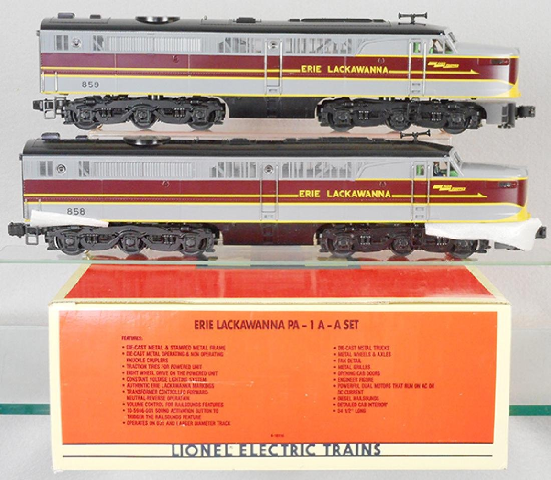 LIONEL 18116 ERIE LACKAWANNA SET