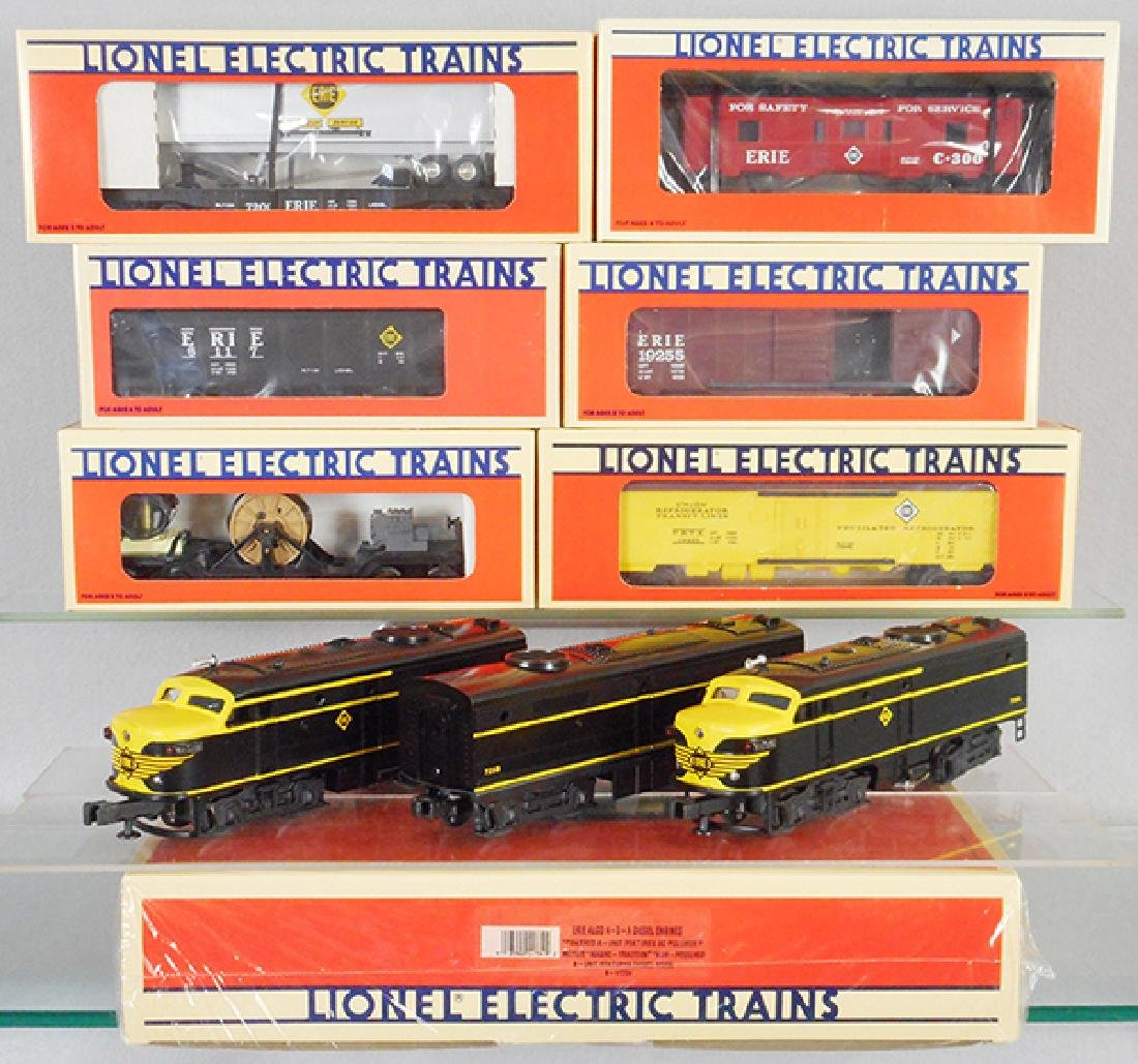 LIONEL ERIE TRAIN SET