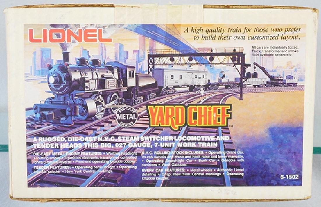 LIONEL 1502 YARD CHIEF SET