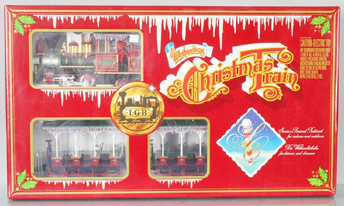 LGB 72560 CHRISTMAS TRAIN SET
