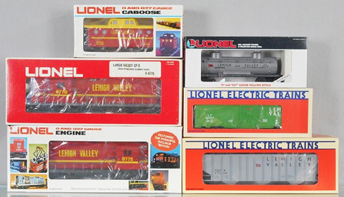 LIONEL LEHIGH VALLEY TRAIN SET