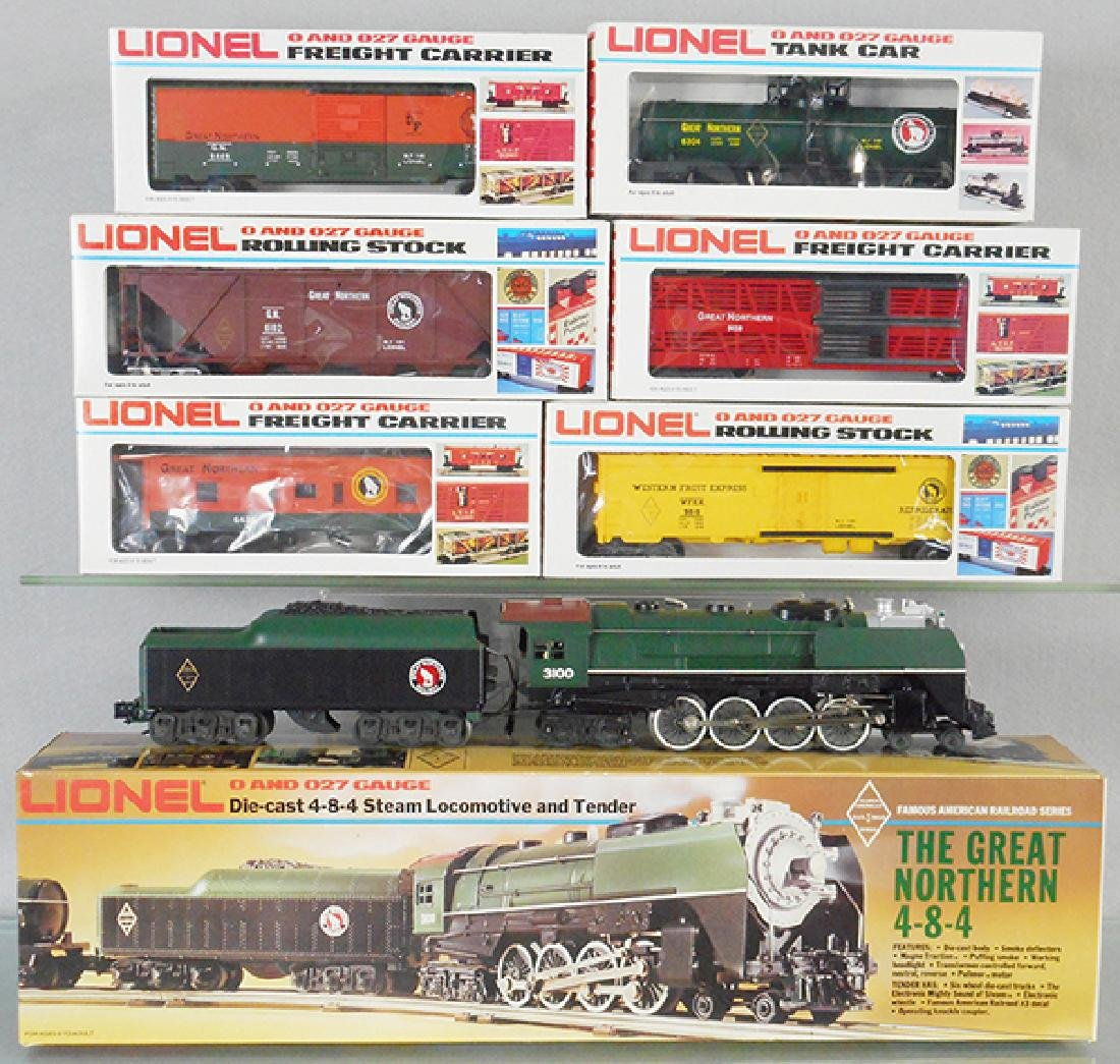 LIONEL GREAT NORTHERN TRAIN SET