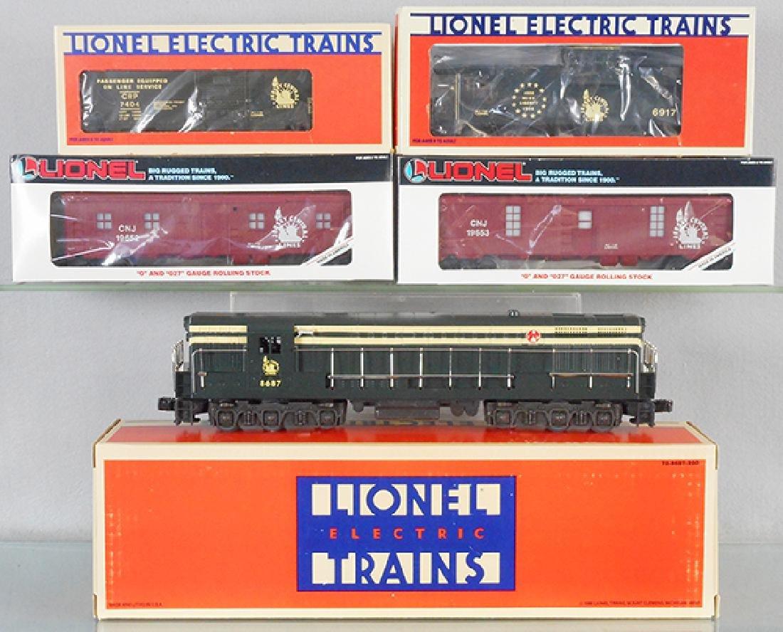 LIONEL JERSEY CENTRAL TRAIN SET