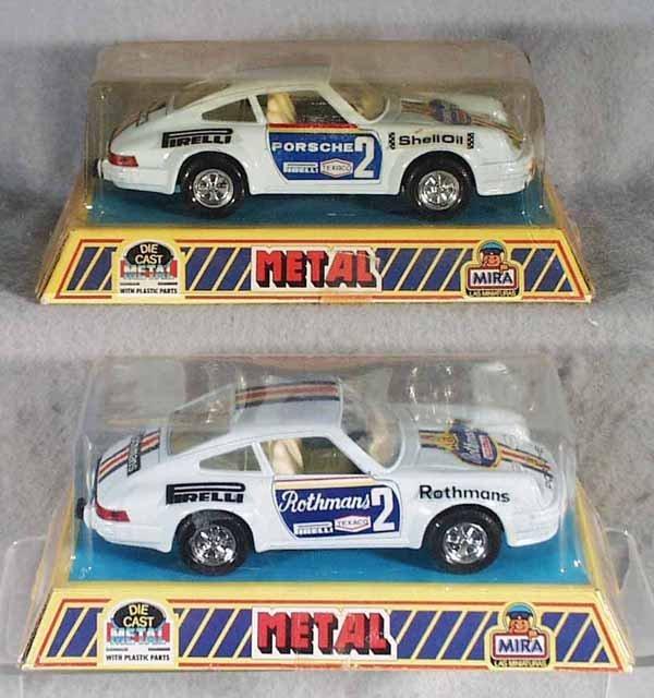003A: 10 MIRA PORSCHE 911 RALLY CARS