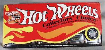 408A HOT WHEELS COLLECTORS CHOICE SET