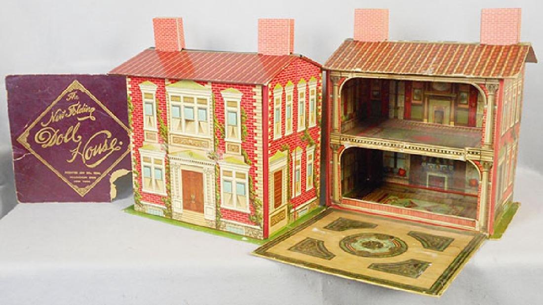 MILTON BRADLEY & MCLOUGHLIN BROS DOLL HOUSES