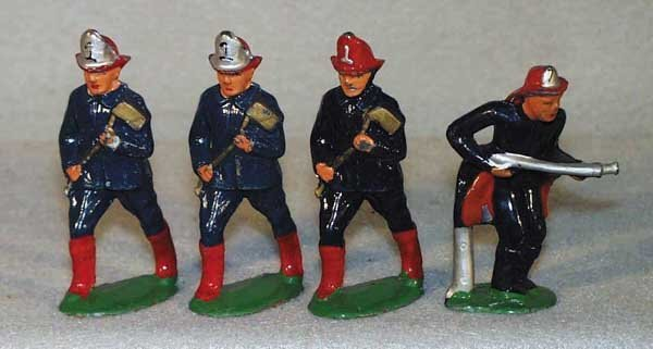005: 4 BARCLAY FIREFIGHTERS