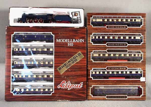 158: LILIPUT RHEINGOLD TRAIN SET