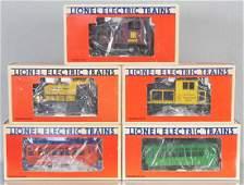 5 LIONEL MOTORIZED UNITS