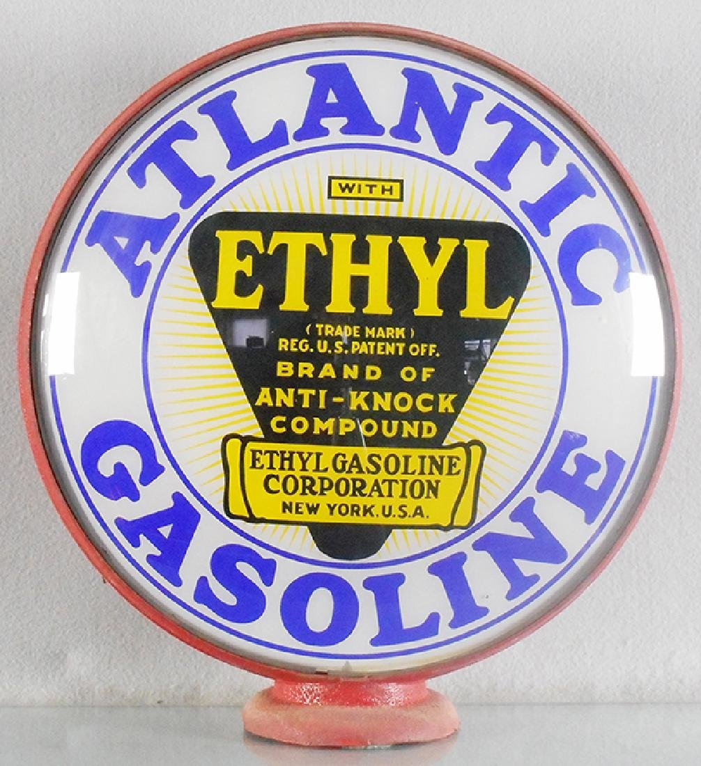 ATLANTIC ETHYL GASOLINE GLOBE