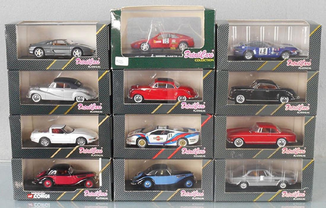 12 DETAIL CARS MODELS