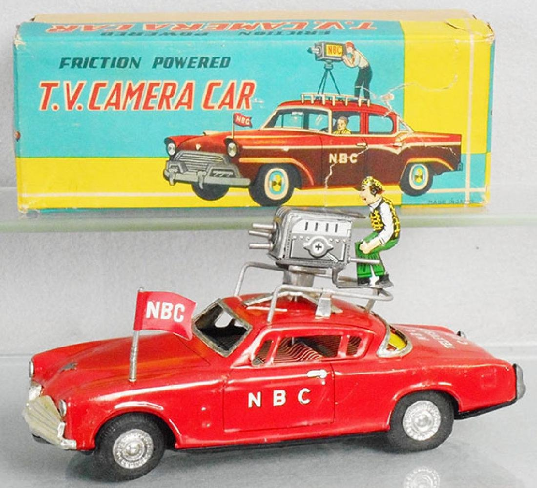 NBC TV CAMERA CAR