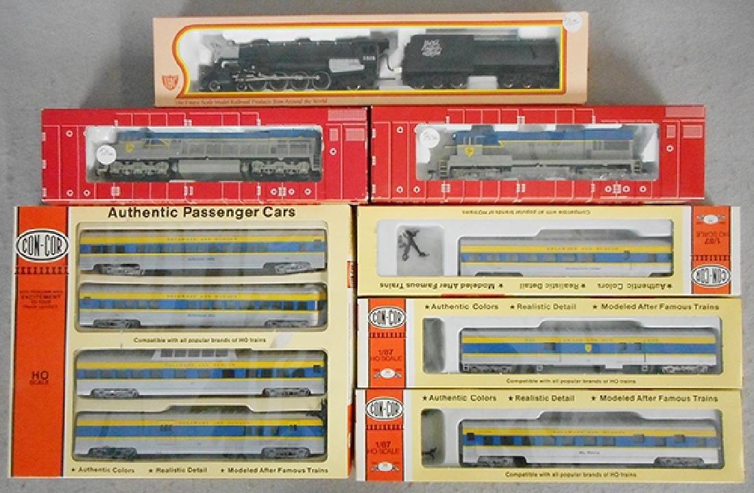 D&H PASSENGER TRAIN SET