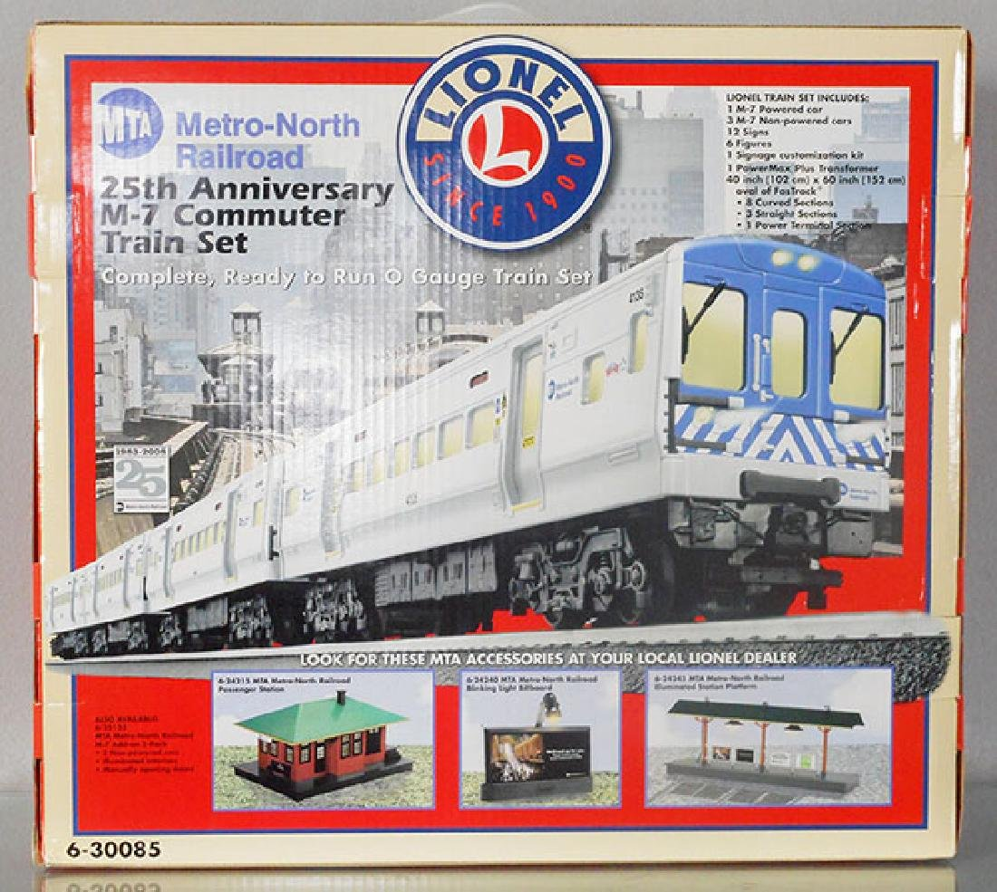 LIONEL 30085 MTA TRAIN SET