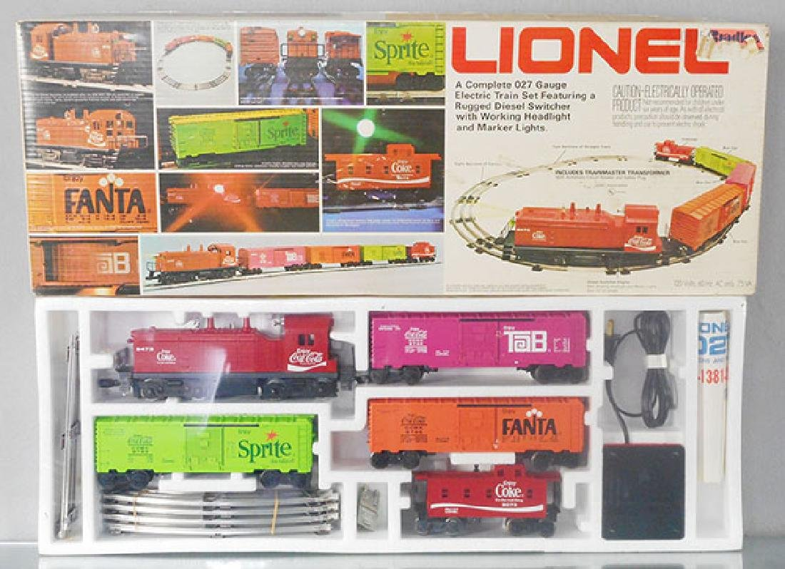 LIONEL 1463 COCA COLA TRAIN SET