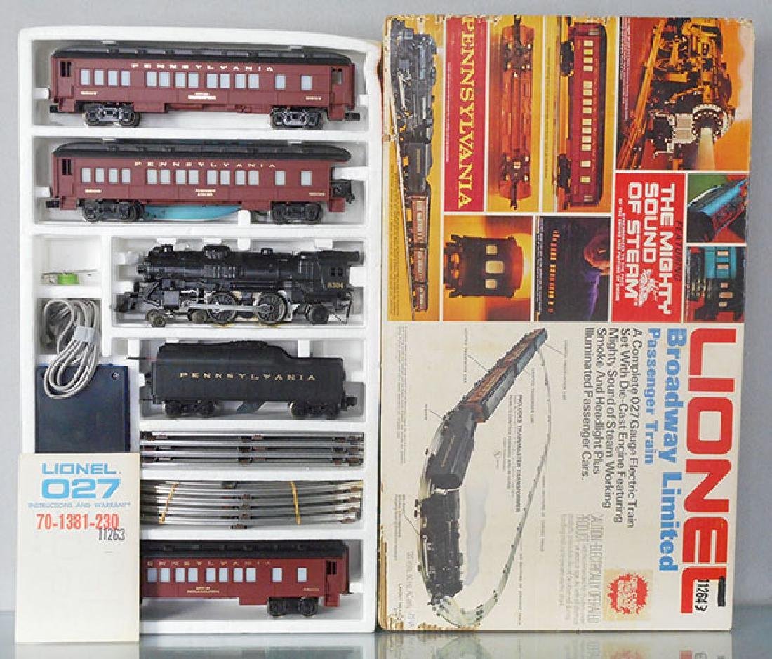 LIONEL 1487 BROADWAY LTD TRAIN SET