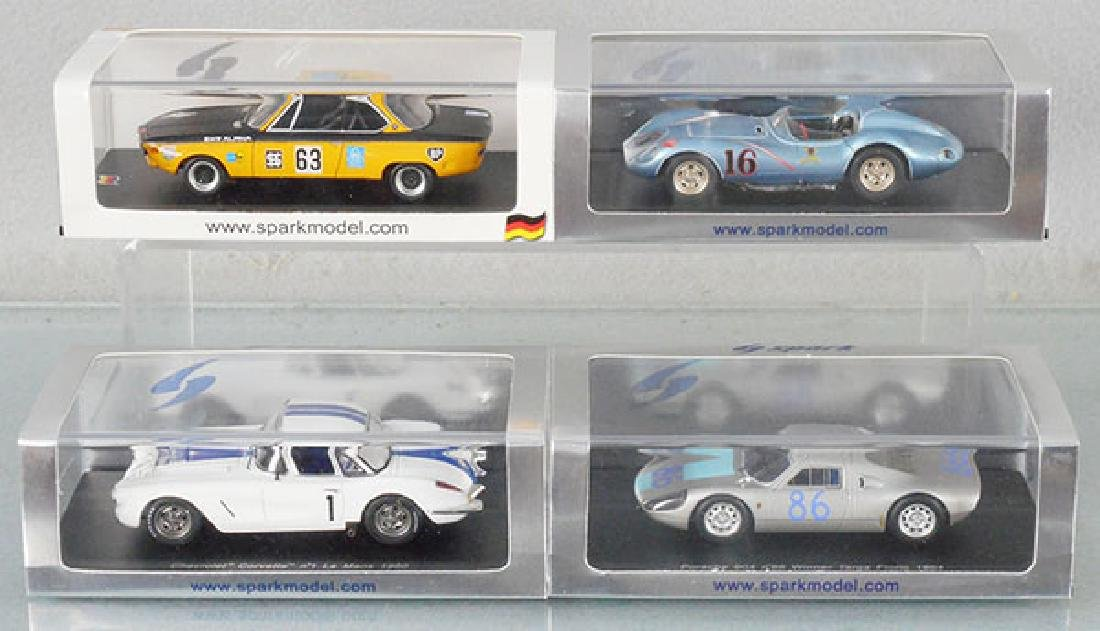 4 SPARK MODEL RACE CARS