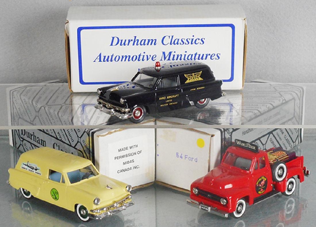 3 DURHAM CLASSICS MODELS