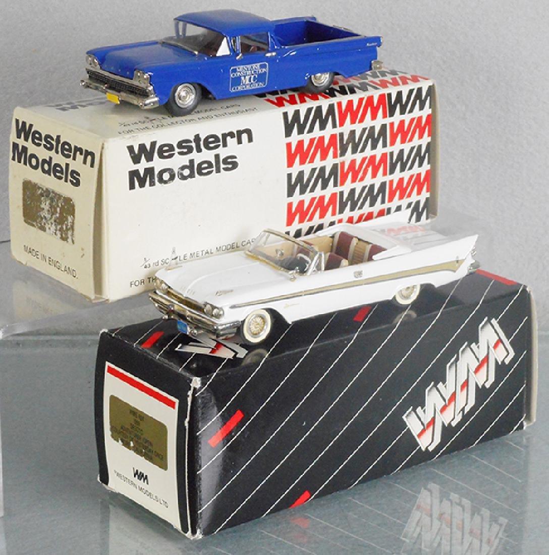 2 WESTERN MODELS AUTOS