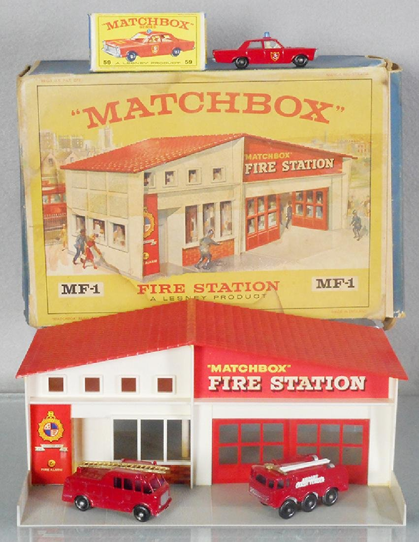 MATCHBOX FIRE SET